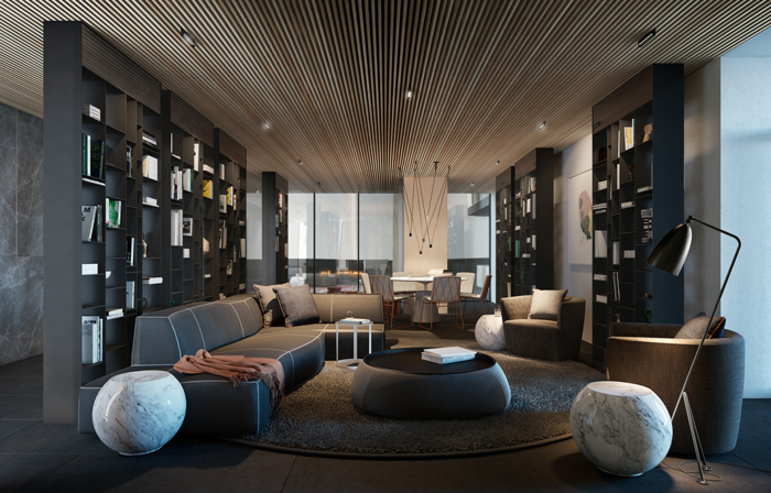 einrichtungsideen wunderschöne zimmerdecke im wohnzimmer