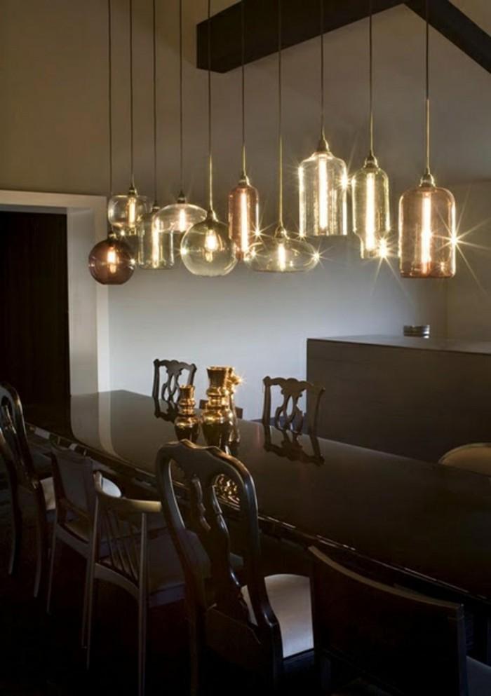 esstischlampe ausw hlen die sch n im esszimmer aussieht und dieses gut beleuchtet 44 beispiele. Black Bedroom Furniture Sets. Home Design Ideas