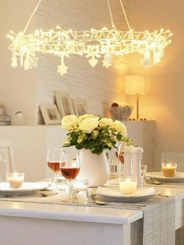 esstischlampe wunderschöner leuchter und schicke tischdeko