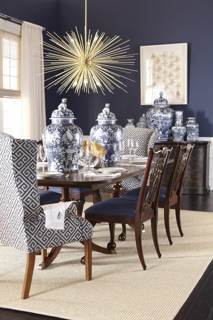 esszimmer modern wunderschöner leuchter als beleuchtungskörper und deko