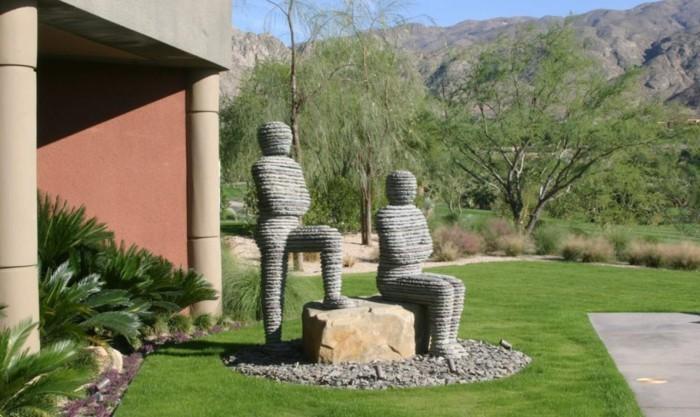 figuren-vorgartengestaltung-modern
