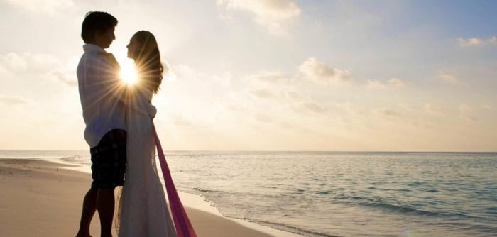 flitterwochen im sommer die malediven auswählen