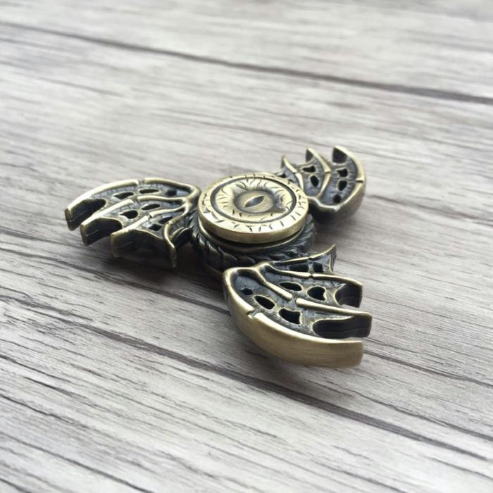 game of thrones drachen fidget spinner metall