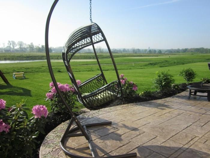 gartenmöbel aus rattan sorgen für modernes aussehen und hohen komfort