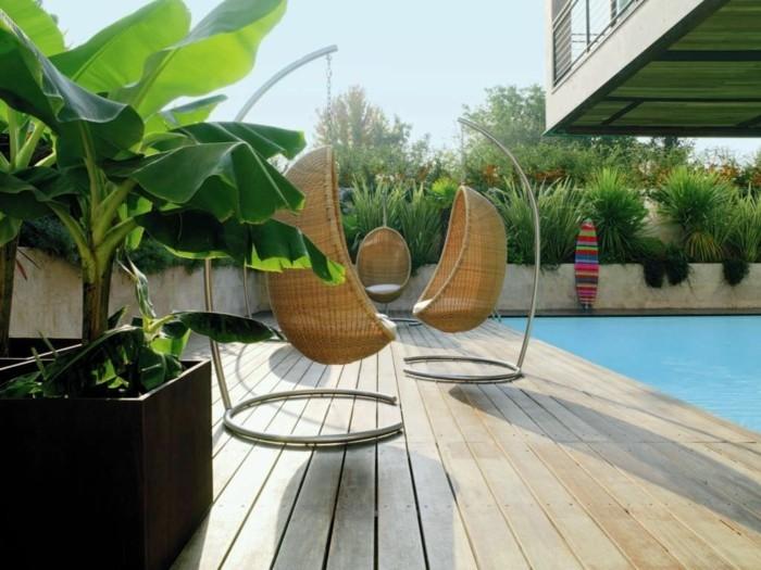 gartenmöbel korbmöbel machen den außenbereich moderner und komfortabler