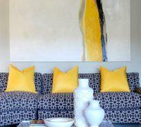 42 sommerliche Beispiele für Gelbtöne und Akzente in der Raumgestaltung