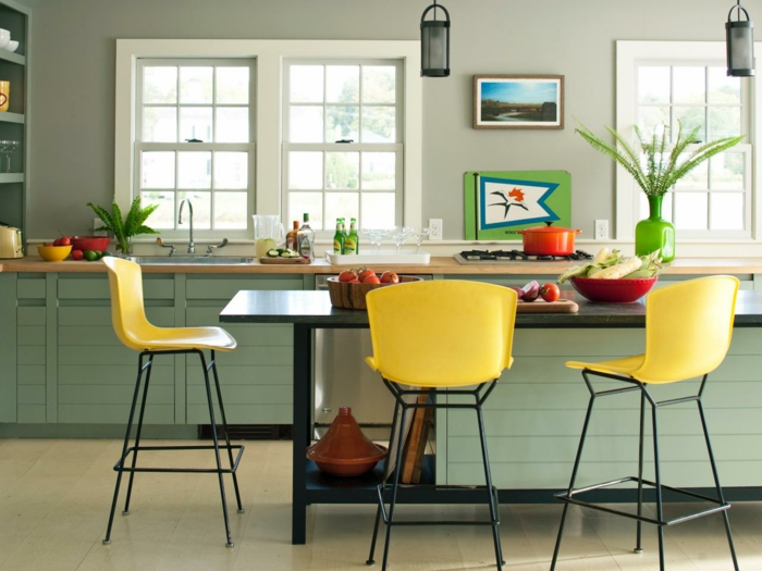 gelbtöne raumgestaltung farbgestaltung30