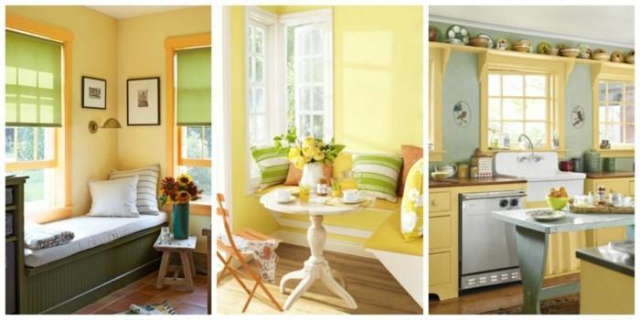 gelbtöne raumgestaltung farbgestaltung35