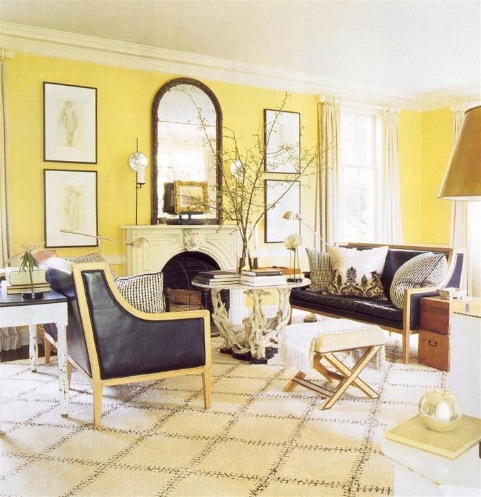 gelbtöne raumgestaltung farbgestaltung38