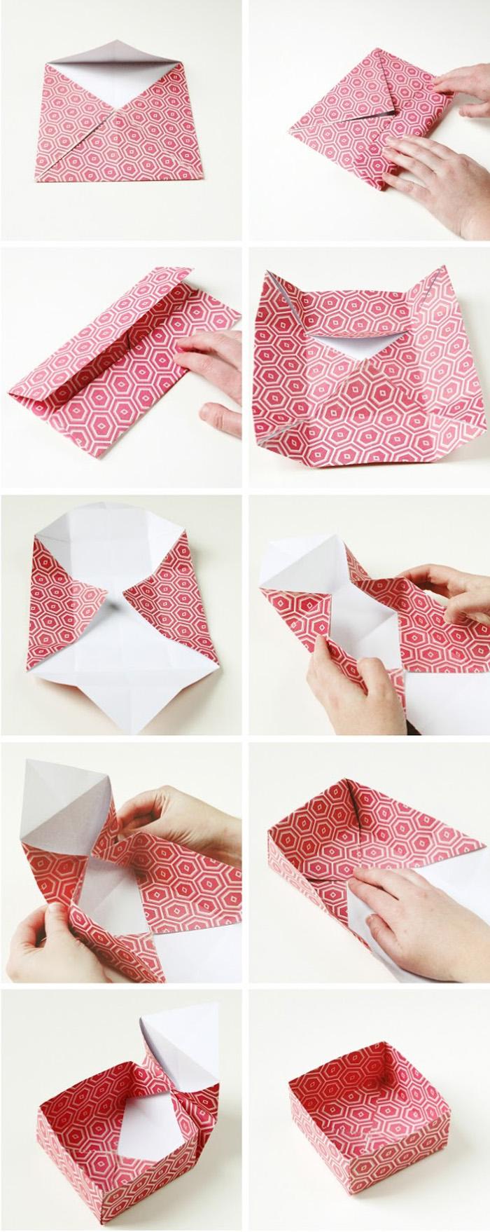 geschnekbox basteln geschenkideen diy deko upcycling ideen