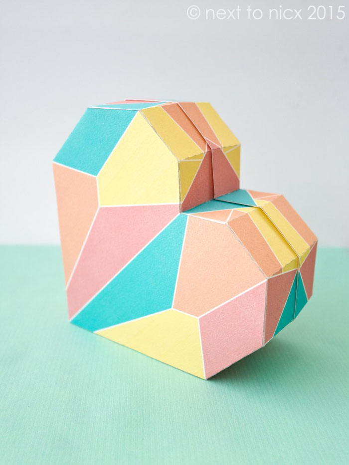 geschnkbox basteln geschnkideen diy deko upcycling ideen tasse selber gestalten herzform 3