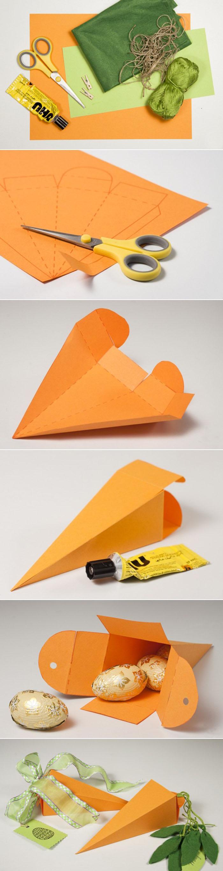 geschnkbox basteln geschnkideen diy deko upcycling ideen tasse selber gestalten karotte