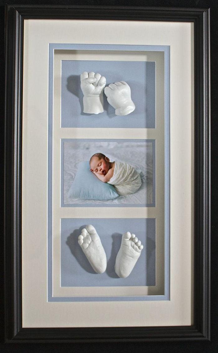 gipsabdruck babybauch babyfüsse