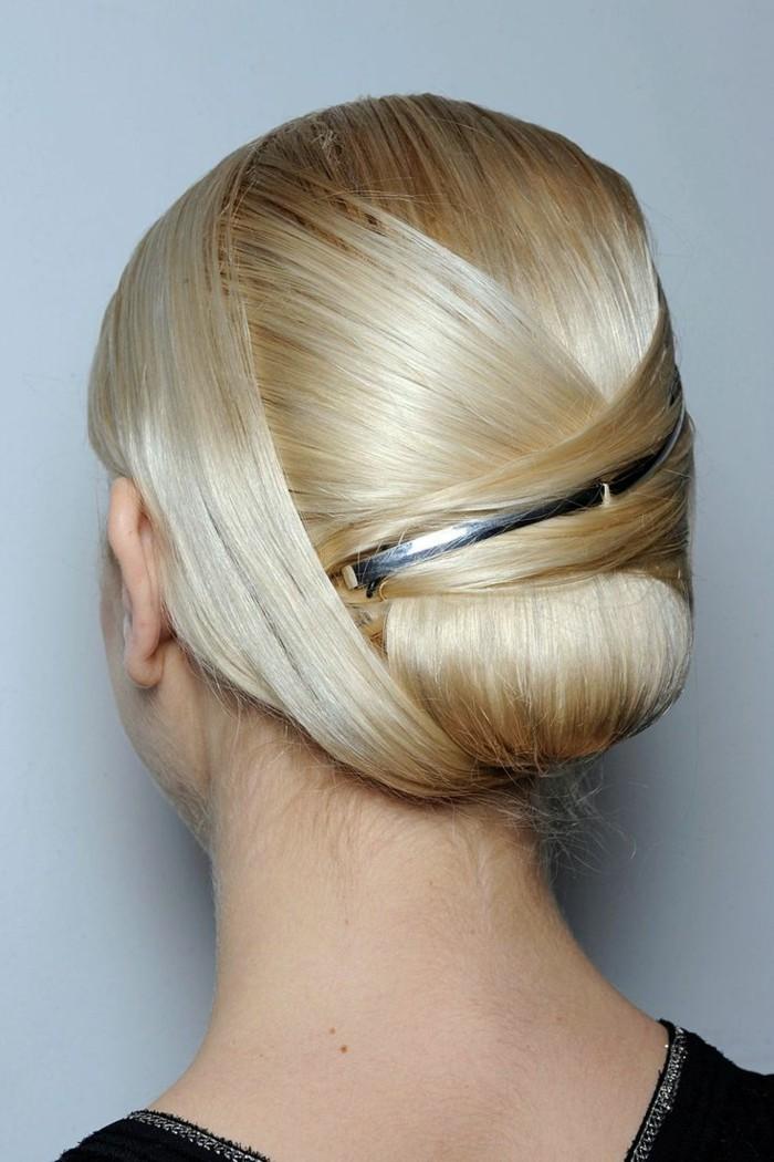 hochsteckfrisuren elegante frisur für langes haar
