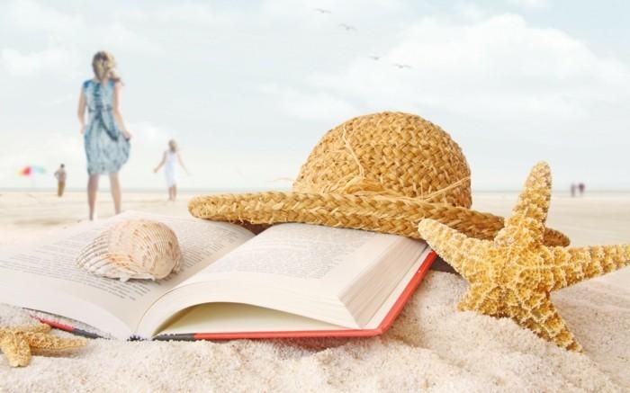 hygge im sommer der strand der sand und die sonne