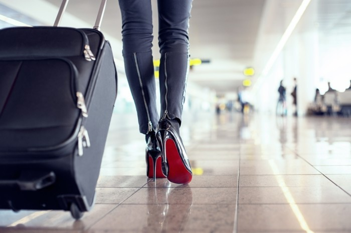 koffer packen für die reise