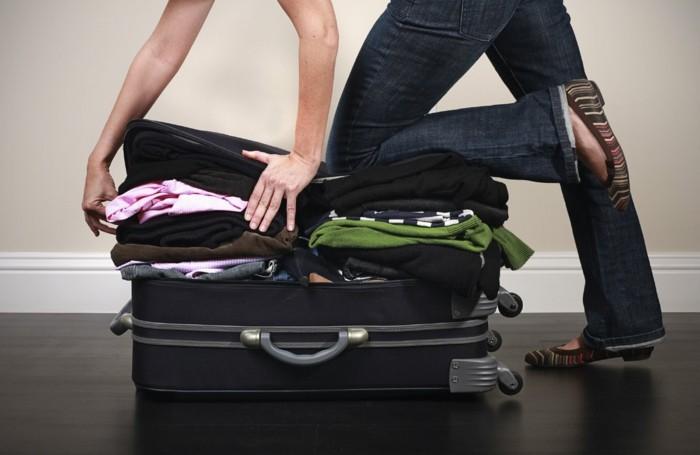 koffer packen tipps nicht zu viele sachen mitnehmen