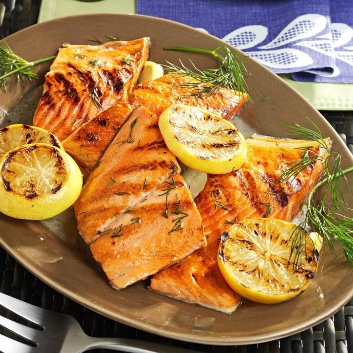 kräuter machen speisen lecker fisch mit dill kochen