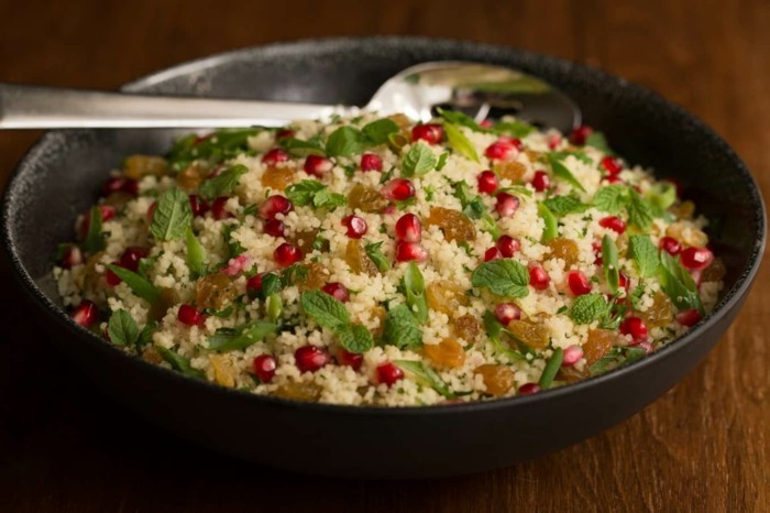 kräuter salat mit petersilie zubereiten