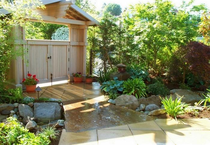 minimalistische naturgarten