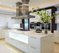 40 moderne Küchen in Weiß faszinieren durch Schick und Funktionalität