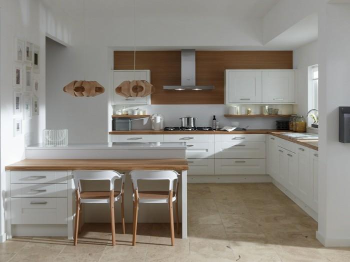 moderne küchen in weiß faszinieren durch stil und funktionalität