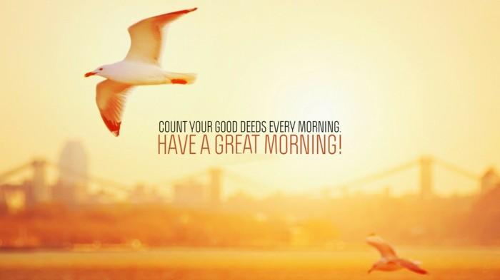 morgen affirmationen good morning greeting