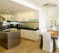 Offene Küche – 44 Ideen, wie Sie die Küche trendig und super funktional einrichten