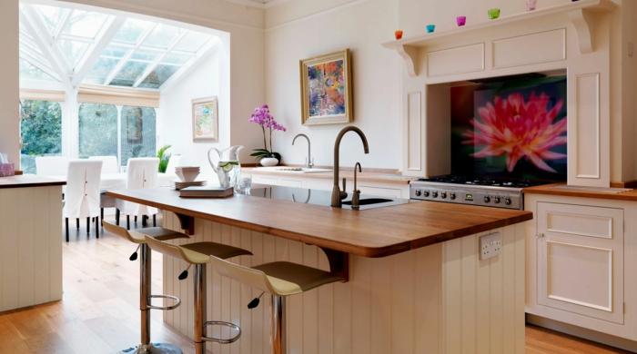 Moderne küchen mit halbinsel  Offene Küche - 44 Ideen, wie Sie die Küche trendig und super ...