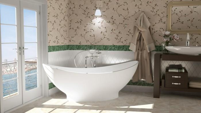 ovale form badewanne