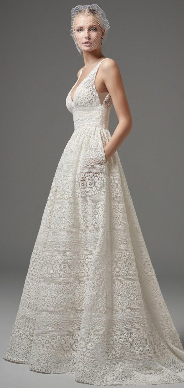67 Brautkleider im Boho Stil: Der heißeste Trend für Ihre ...
