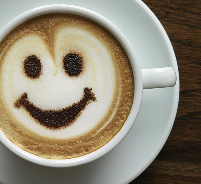 smile face kaffee morgengruss guten morgen