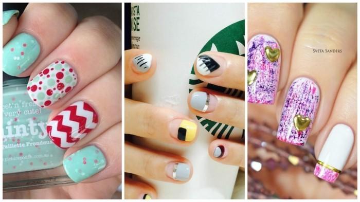 sommer-ideen-nageldesign-2017-fingernägel-gelnägel-nagellack-maniküre