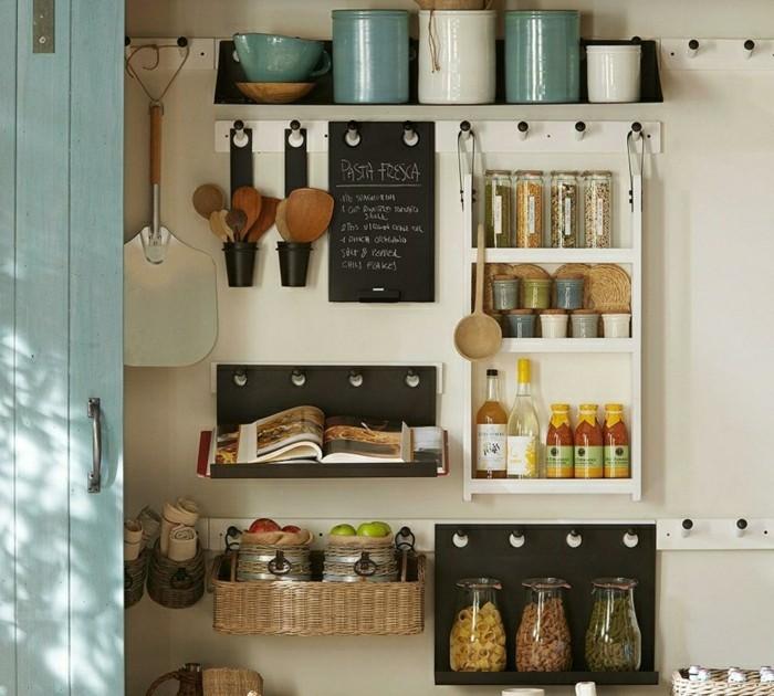 stauraum ideen für die kleine küche
