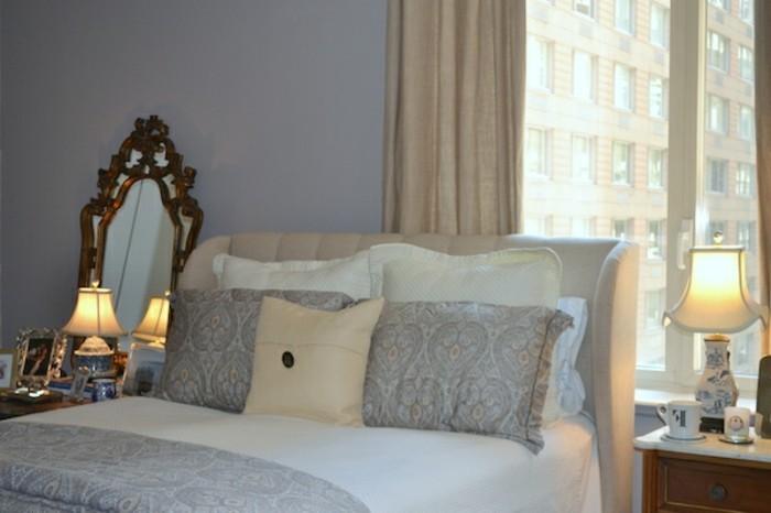 steingrau clark+kensington trendige wandfarbe im wohnzimmer