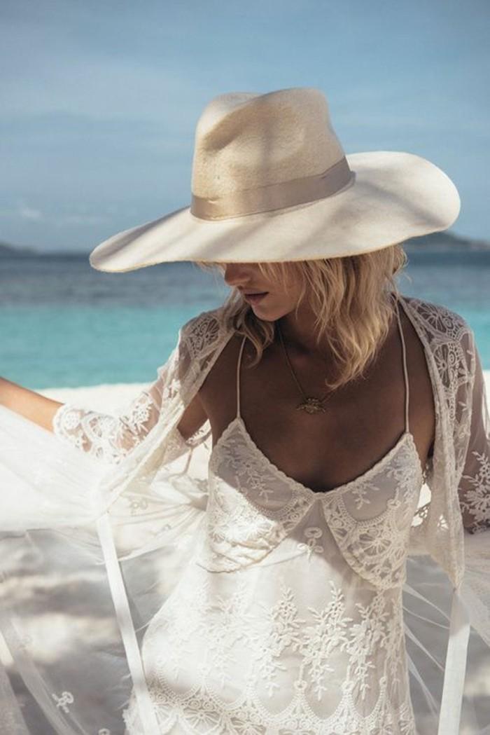 strandhochzeitskleid boho style