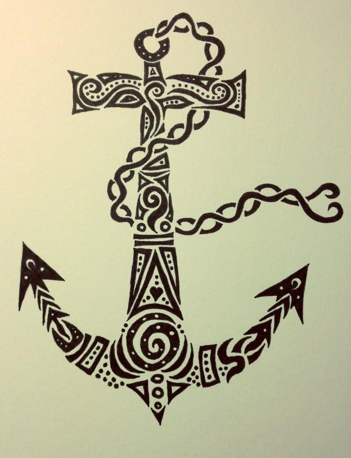 Anker Tattoo Motive: 54 coole Ideen für Ihre nächste ...