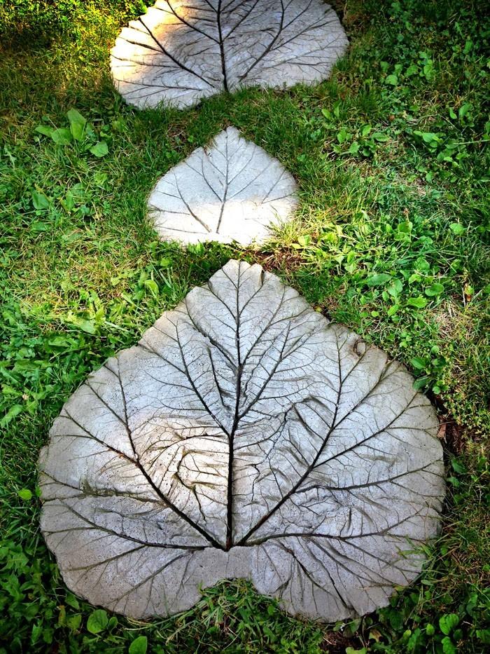 Trittsteine- Gartengestaltung Ideen rund um die Gartenwege