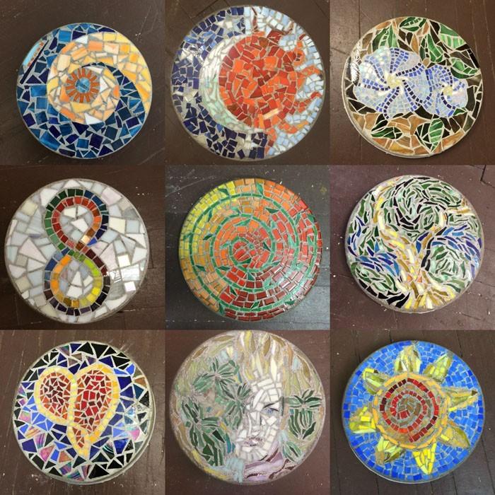 trittsteine mosaiksteine gartenwege