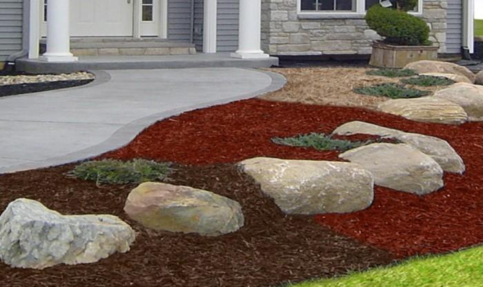 30 vorbilder zum thema vorgarten gestalten die zeigen for Steine im vorgarten