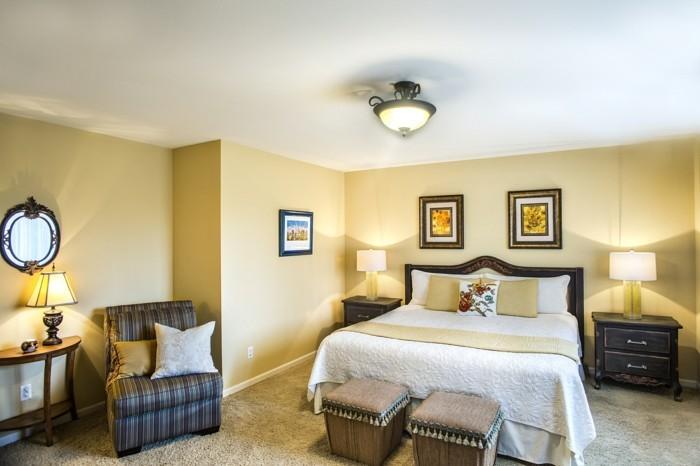 wandfarben für ein gemütliches schlafzimmer Compatible Cream Sherwin Williams