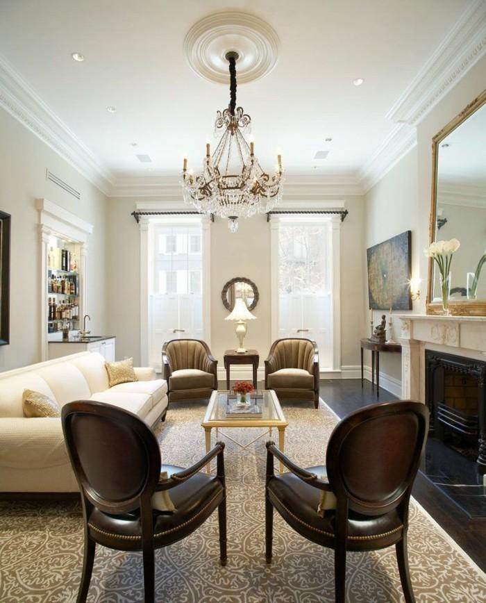 wandfarben für ein harmonisches wohnzimmer Intense White Benjamin Moore