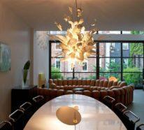 Esstischlampe auswählen, die schön im Esszimmer aussieht und dieses gut beleuchtet