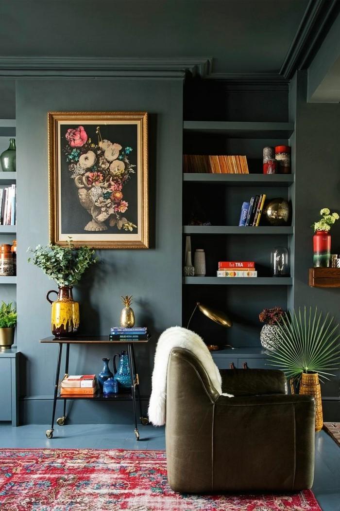 88 dekoideen wohnzimmer wie sie den wohnbereich for Farbige wandgestaltung wohnzimmer