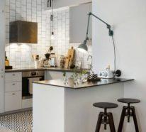 Wohnküche – Die Essenzubereitung war nie so angenehm gewesen! – 40 Ideen für moderne Küchengestaltung