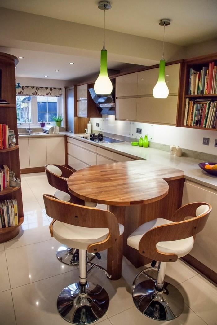wohnküche große arbeitsfläche extra essbereich
