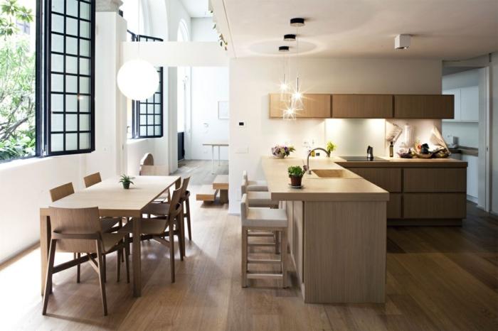 wohnküche stilvolle küchenmöbel und wunderschöne holzoptik
