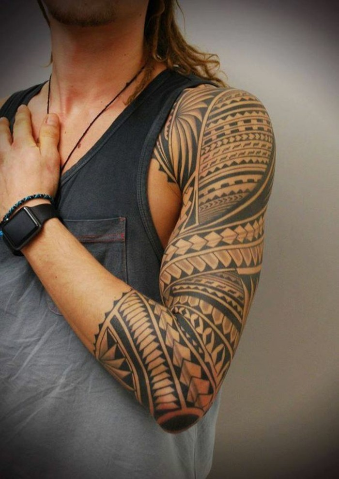 arm maori tattoo tribal tätowierung