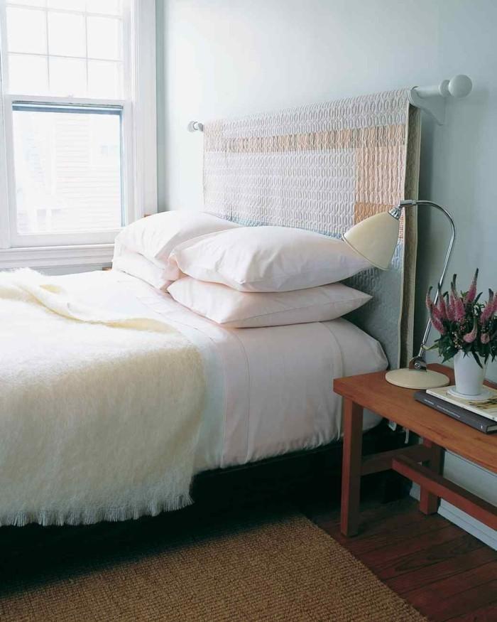 Hervorragend Diy Ideen Einfache Und Kreative Ideen Wie Man Ein Bettkopfteil  Selber Macht Bett Selber Bauen