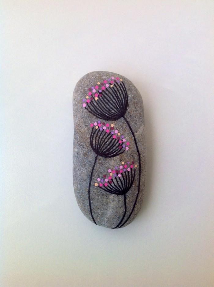 diy ideen steine bunt bemalen für heitere stimmung